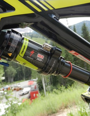 The Comp 29er features a custom RockShox Monarch RL shock with AutoSag