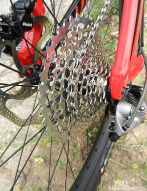SRAM's long-awaited XX1 transmission will be used on the S-Works Enduro