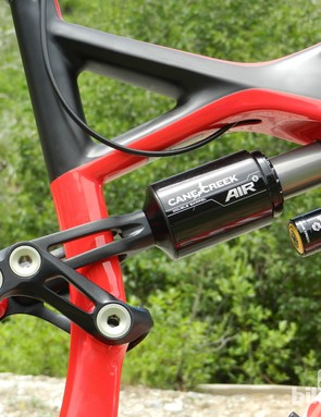 The S-Works Enduro will come with a Cane Creek Double Barrel air shock