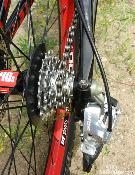 The Team Replica Demo 8's drivetrain has been revamped, to improve clearance