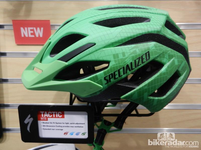 Specialized's revamped Tactic helmet
