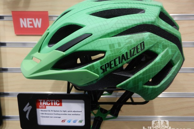 Specialized's revamped Tactic helmet