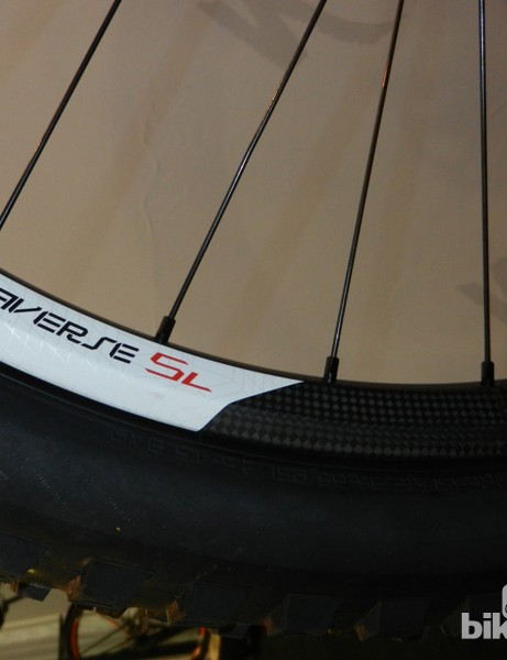 A 22mm internal width means wider tyres can be accepted