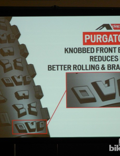Specialized's Adaptive Tread tech enables them to analyse each knob individually