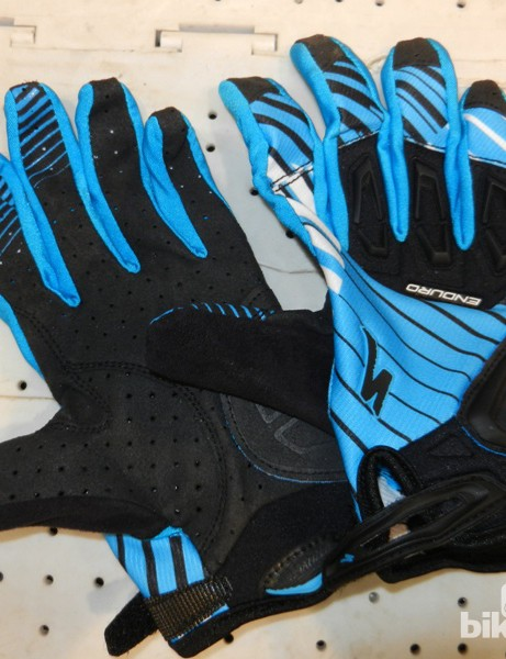The Enduro glove sits at the tougher end of the new glove spectrum