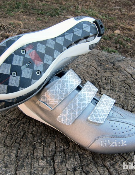 The carbon fiber sole is fantastically stiff