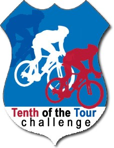 Celebrate the Tour de France with our Tenth of the Tour Challenge