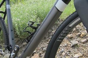 The 'Love Handle' on the disc bike