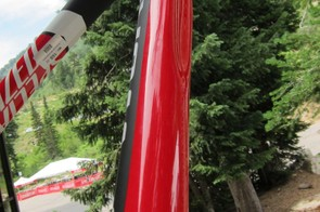 The 'Love Handle' down tube grip