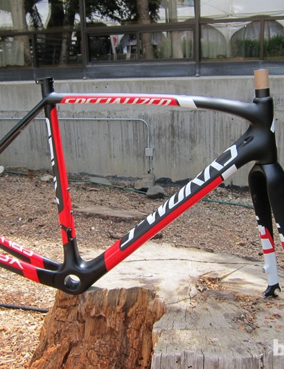 The S-Works Crux disc frameset