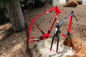 Crux Pro Carbon and S-Works disc framesets vary by material and layup