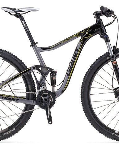 The Giant Trance X 29er 2 will be the least expensive model in the family for 2013