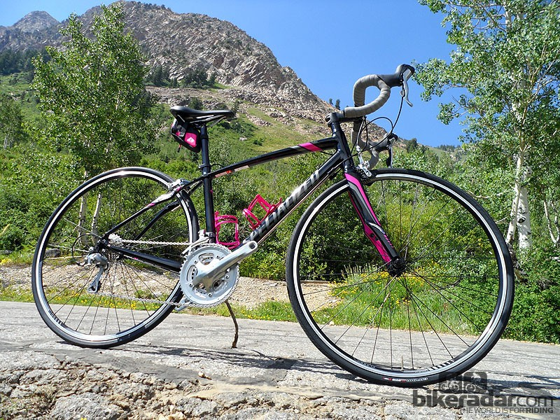 Dolce Elite, the aluminium women's bike with a full complement of Zertz vibration damping, is a cost effective alternative to the Ruby at £1,050