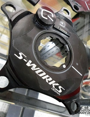 The S-Works crankset now has a cost effective upgrade to accurate power measurement thanks to the Quarq Power Meter. Available in both standard and compact BCD's, the ANT+ ready connectivity offers pro-level power measurement at a fraction of the cost of a standard system