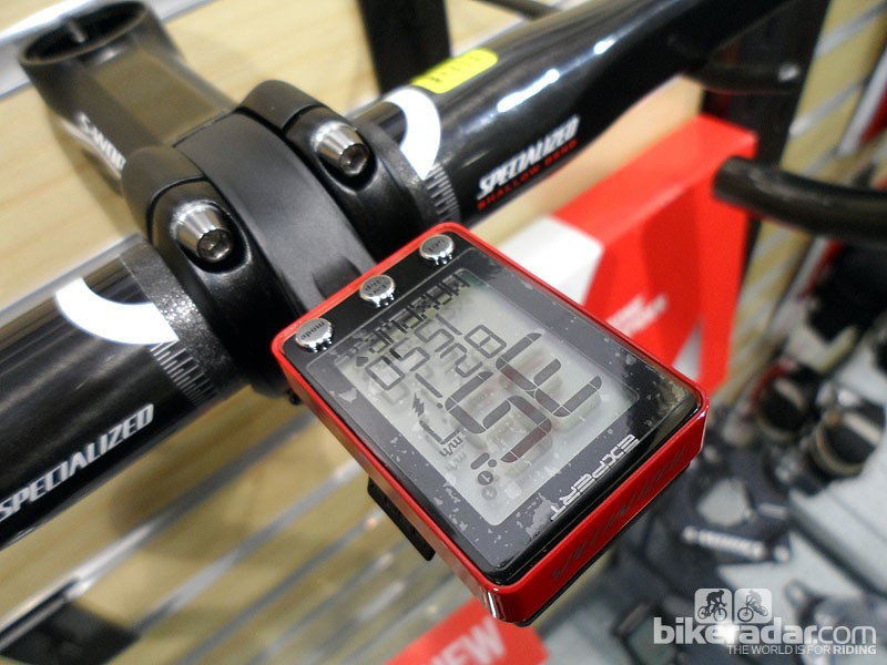 The Expert computer offers ANT+ compatibility for HRM and power meters