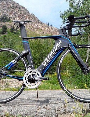 For 2013, Specialized have unveiled a more affordable, non S-Works Shiv TT bike - the Shiv Comp