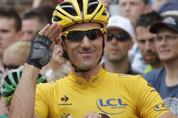 Fabian Cancellara left the Tour de France on Thursday to be with his wife for the birth of their son