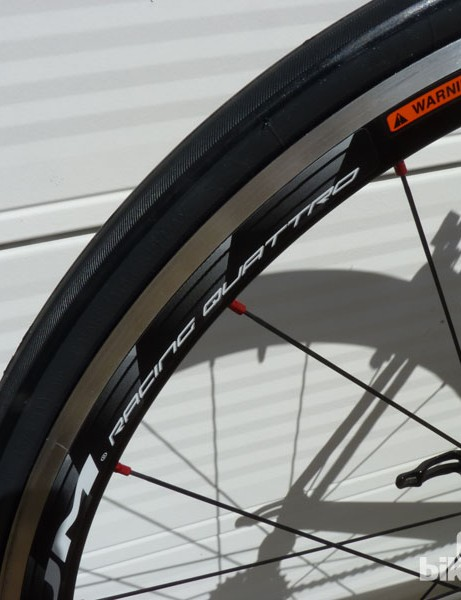 The Cento 1 SR will be specced with Fulcrum Racing Quattro wheels