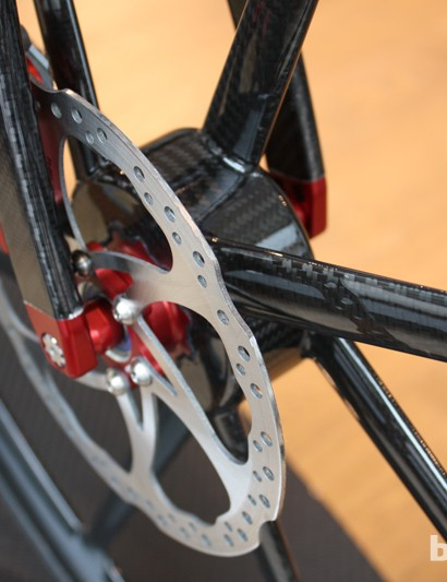Factor wheels and discs mean this is an entirely custom affair