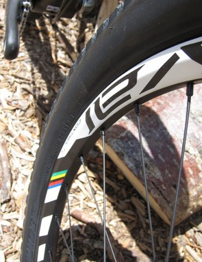 The Control SL wheels further reduce overall weight