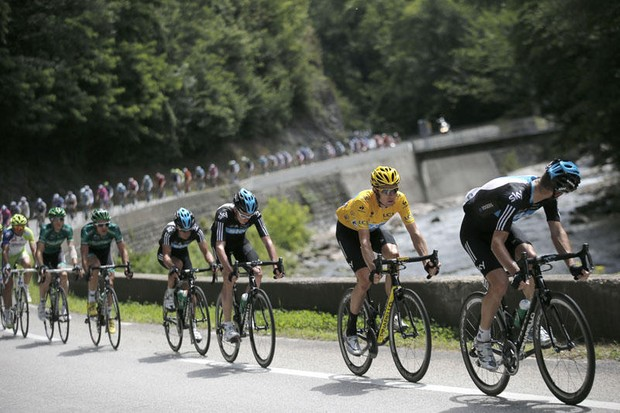 Team Sky's tight control of the Tour hasn't impressed all of the fans