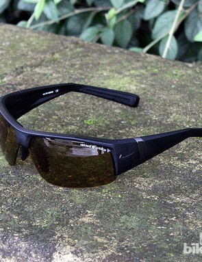 The lenses are polycarbonate and offer 100 percent UVA/UVB protection