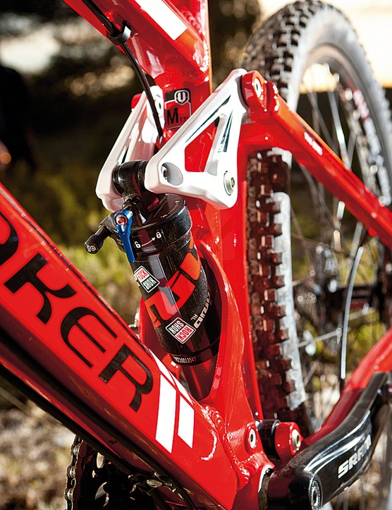 The RockShox Ario RL shock works well in this design