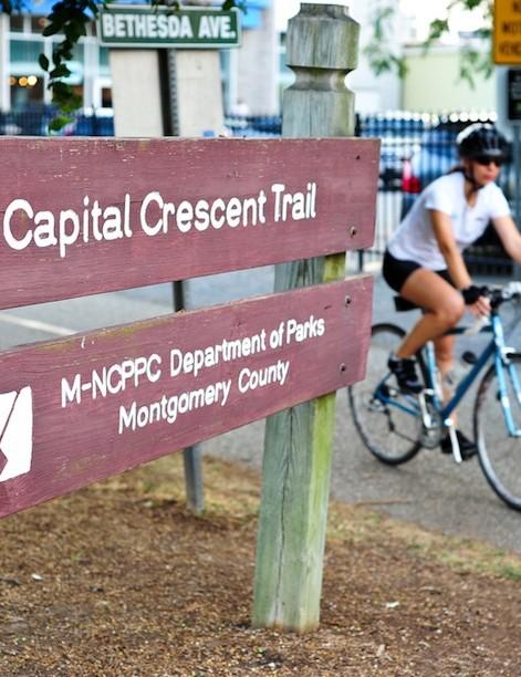 Bethesda's Capital Crescent Trail