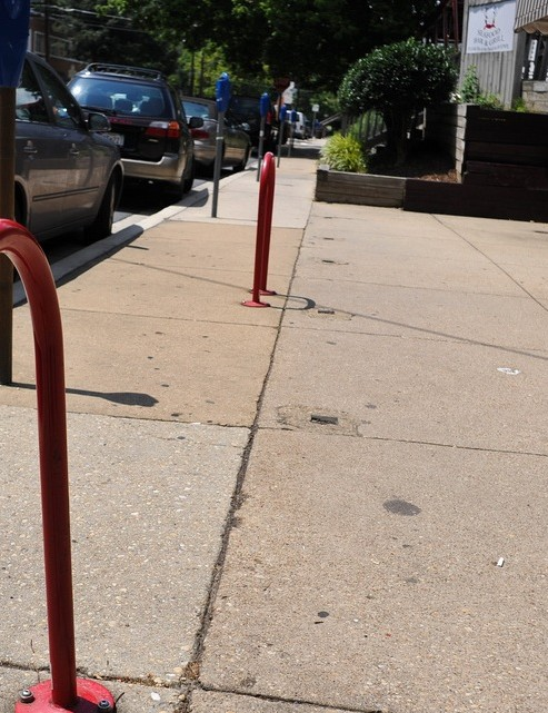 Bethesda gets new bike racks to help promote bicycling