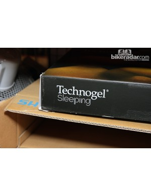 Sky use Technogel bedding while on the road