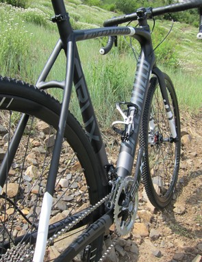 The new Crux Expert Carbon Disc sports the alloy Crux's proven geometry