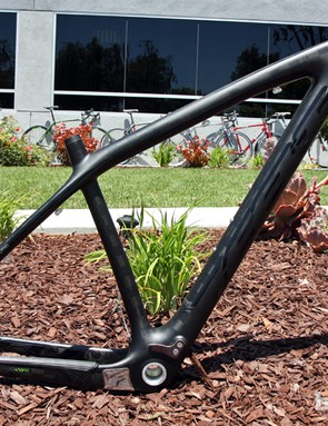 Felt's top-end Nine FRD carbon hardtail frame boasts a claimed weight of just 900g.