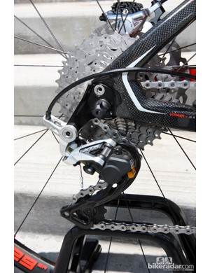 Nearly every Felt frame is now compatible with Shimano's new Direct Mount rear derailleur standard simply by swapping the replaceable hanger.