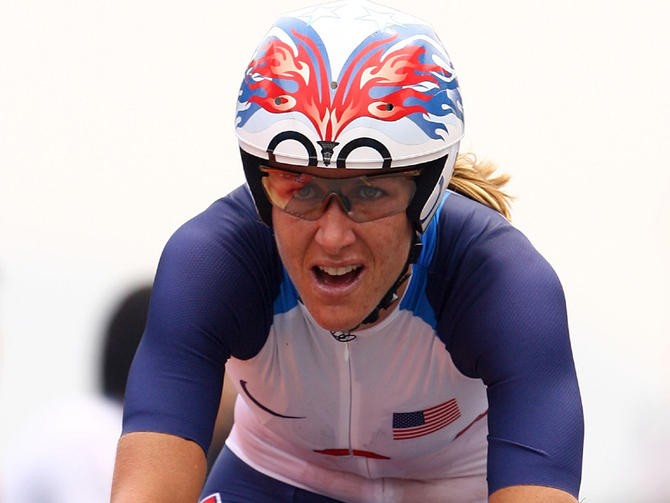 Kristin Armstrong already has an Olympic TT title to her name