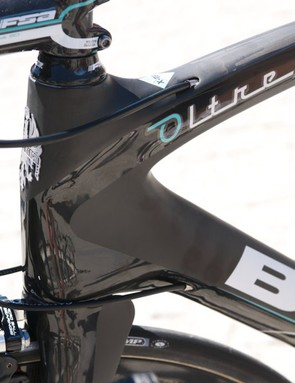 The matte and gloss black Oltre XR is a looker
