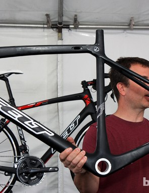 Felt say the new Z carbon frame is 50g lighter, 25 percent stiffer and yet more comfortable than the old version