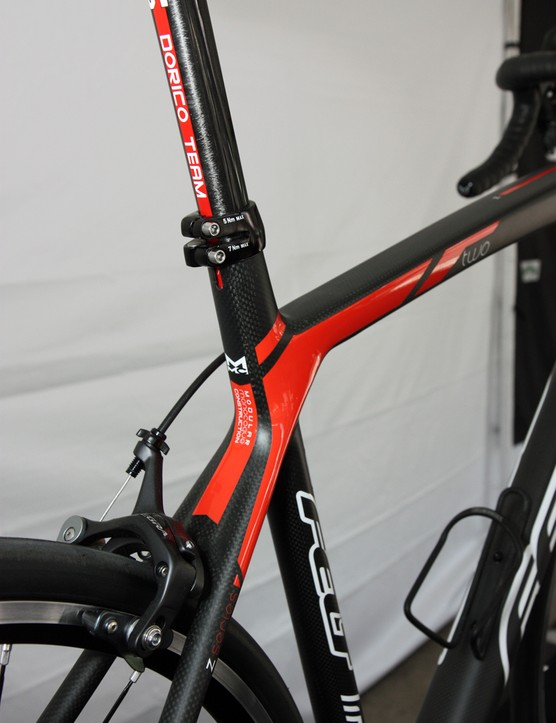 The new Z carbon frames get a more flowing seat cluster than previous versions