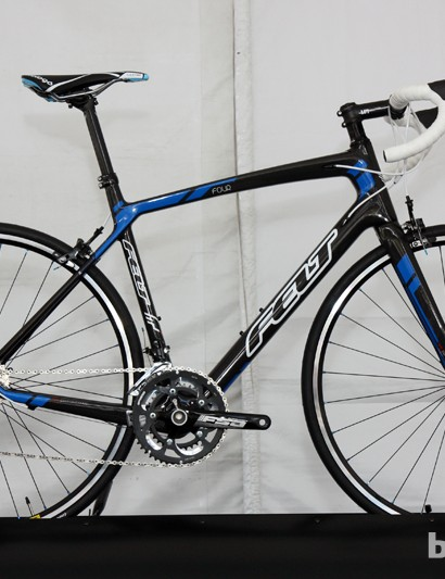 The Felt Z4 frame is heavier than the top-end Z1 model but supposedly delivers the same ride quality and stiffness for much less money