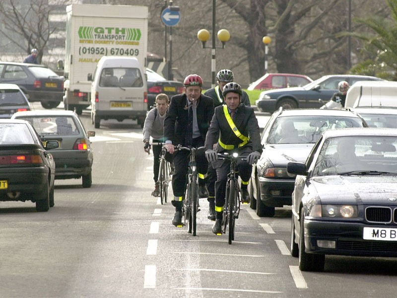 UK ministers want road safety, particularly towards cyclists and pedestrians, improved