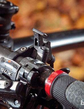 Shimano Deore brakes stop the Ghost scaring you