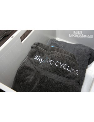 Yes, Sky even have their own towels It seems no detail has been overlooked.