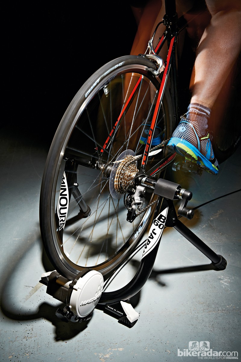 Turbo trainers come in many shapes and sizes, at lots of different price points