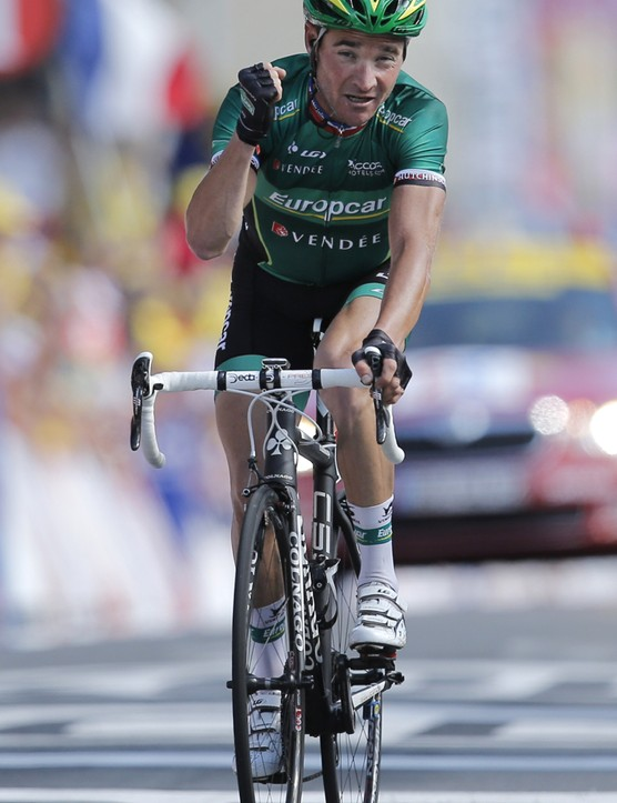 Winning stage 10 of the 2012 Tour de France