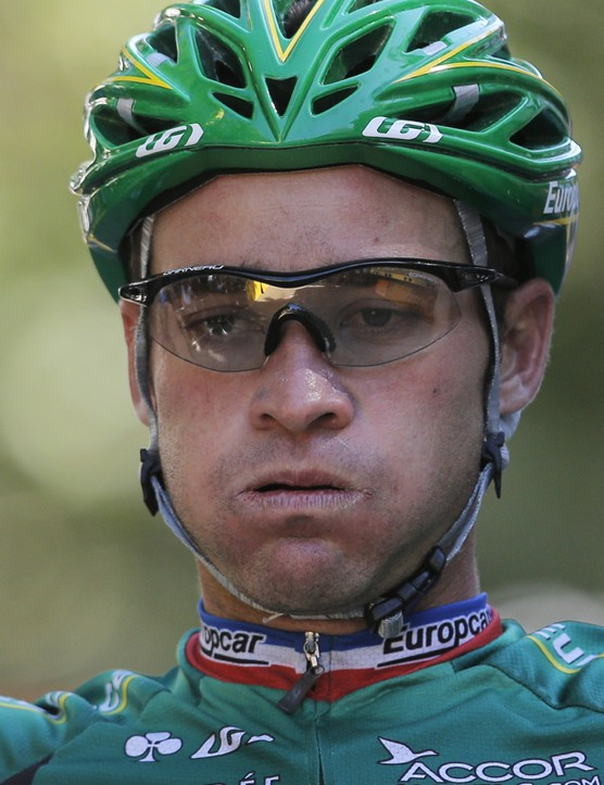 Voeckler expression #911: exhaustion