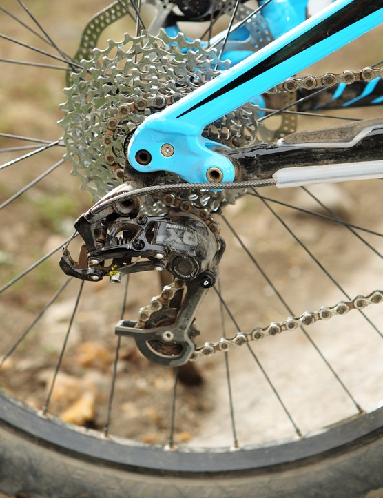 SRAM's new Type rear mech has a clutch-style mechanism