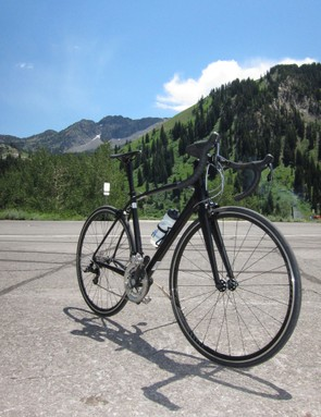 We tested the Allez Race on the roads around Utah's Alta and Snowbird ski regions