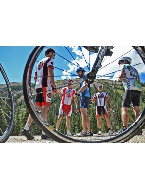 Riders pause before tackling Loveland Pass on day 3