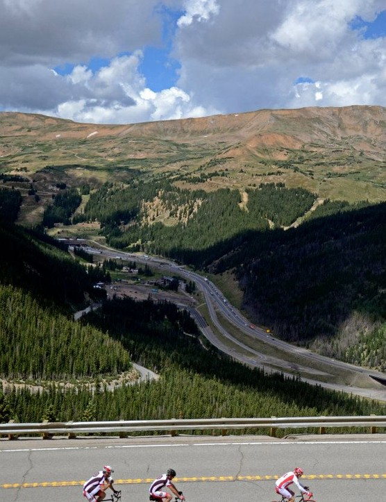 Ascending Loveland Pass