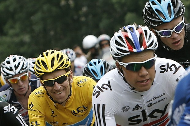 Bradley Wiggins' pursuit for glory will now reach a much bigger audience