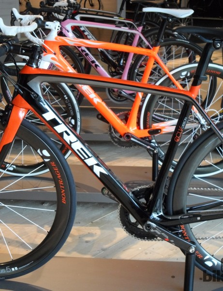 Trek's Project One custom finish program always produces some great looking machines